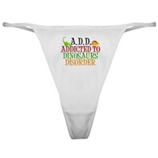 Funny Dinosaur Classic Thong