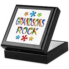 Grandson Keepsake Box
