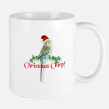 Christmas Budgie Mug