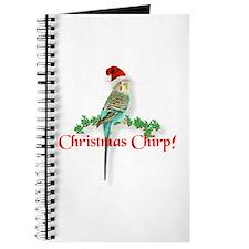 Christmas Budgie Journal