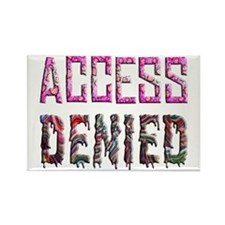 Access Denied Rectangle Magnet (10 pack)