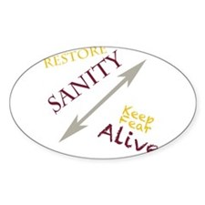 Restore sanity Decal