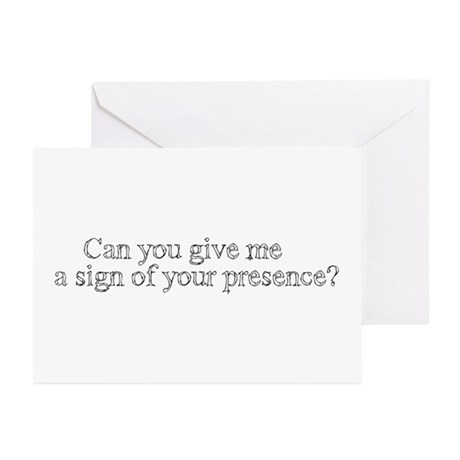 Sign of Your Presence Greeting Cards (Pk of 10)