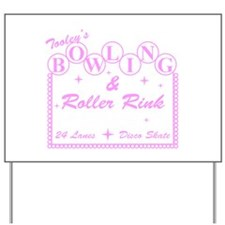 Tooley's Bowling & Roller Rin Yard Sign