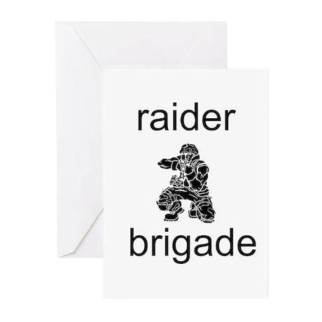 Raider Brigade Greeting Cards (Pk of 10)