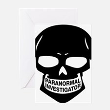 Paranormal Investigator Greeting Card