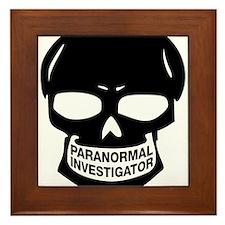 Paranormal Investigator Framed Tile