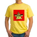 New Orleans Christmas Yellow T-Shirt