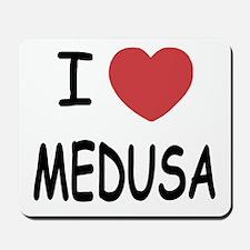 I heart Medusa Mousepad