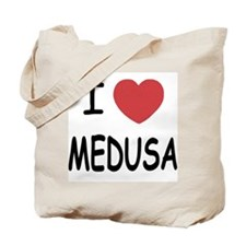 I heart Medusa Tote Bag