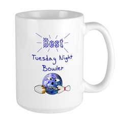 Best Tuesday Night Bowler Mug