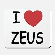 I heart Zeus Mousepad