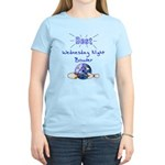 Best Wednesday Night Bowler Women's Light T-Shirt