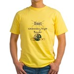 Best Wednesday Night Bowler Yellow T-Shirt