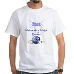 Best Wednesday Night Bowler White T-Shirt