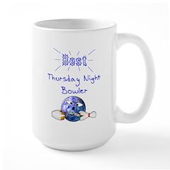 Best Thursday Night Bowler Mug