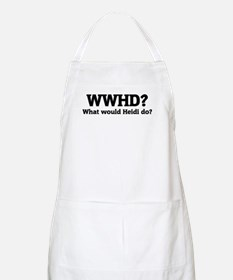 What would Heidi do? BBQ Apron