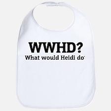 What would Heidi do? Bib