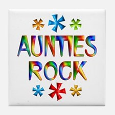 Auntie Tile Coaster