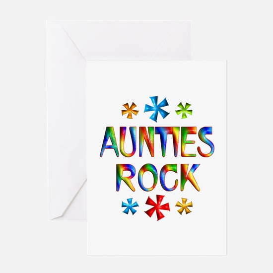 Auntie Greeting Card