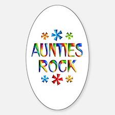 Auntie Sticker (Oval)