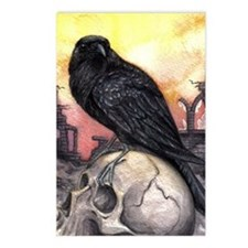 Raven Postcards (Package of 8)