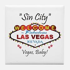 Vegas Baby Tile Coaster