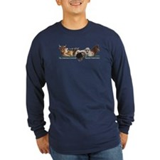 ALBC Logo Long Sleeve Slate Blue T-Shirt