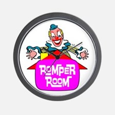 """ROMPER ROOM"" Wall Clock"