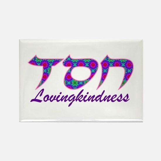 Chesed: Lovingkindness Rectangle Magnet
