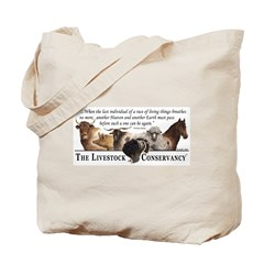 Logo/Beebe Quote Tote Bag