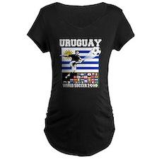 Uruguay World Soccer Futbol T-Shirt