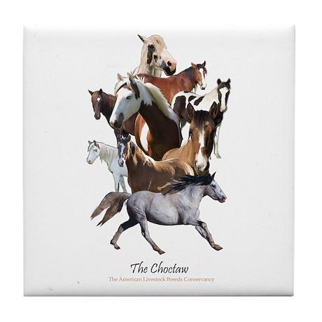 Choctaw Horse Tile Coaster