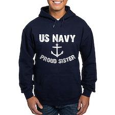 US Navy-Proud Sister Hoodie