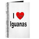 I Love Iguanas Journal