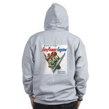 Chrysler Firepower Engine Zip Hoodie