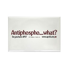 Antiphospho....what? Rectangle Magnet