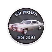 "68 NOVA SS 350 3.5"" Button"