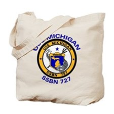 USS MICHIGAN SSBN 727 Tote Bag