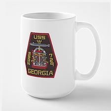 USS Georgia SSBN 729 Large Mug