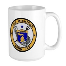 USS MICHIGAN SSBN 727 Mug