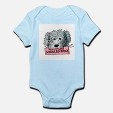 Doodles Rock Sign Infant Bodysuit