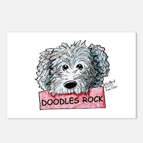 Doodles Rock Sign Postcards (Package of 8)