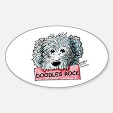 Doodles Rock Sign Decal
