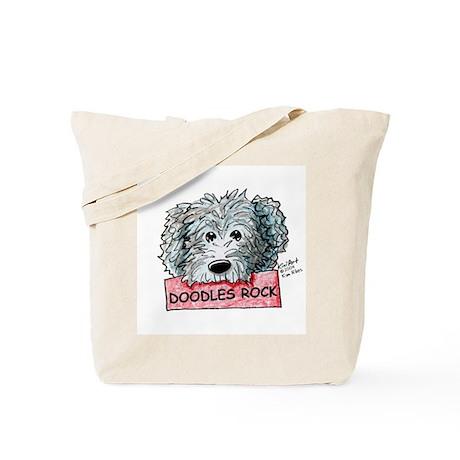 Doodles Rock Sign Tote Bag