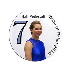 """Hali Pedersoli 3.5"""" Button"""