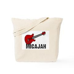 Guitar - Micajah Tote Bag