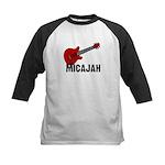 Guitar - Micajah Kids Baseball Jersey