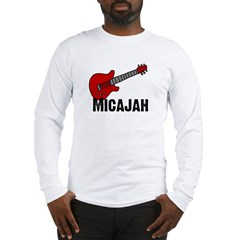 Guitar - Micajah Long Sleeve T-Shirt
