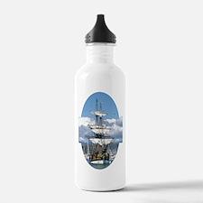 Unique Ship nautical compass sail pirate Water Bottle